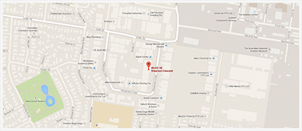 M Print Map Location